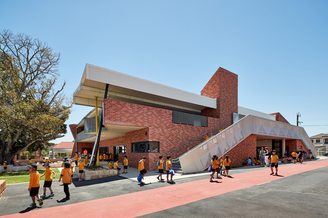 Highgate Primary School by Iredale Pedersen Hook Architects.