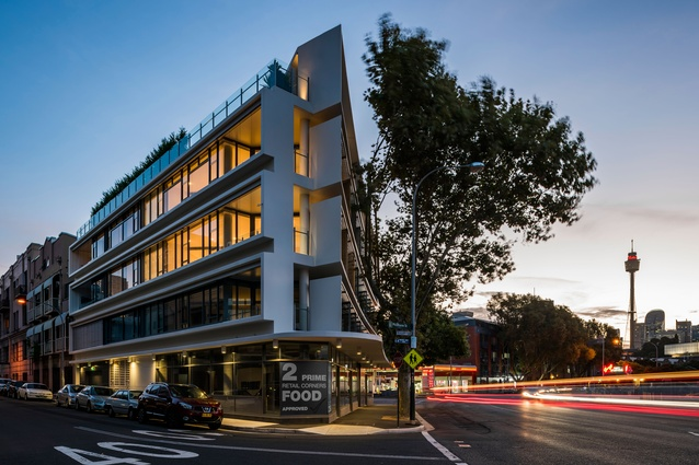 The Anchorage, 65 Cowper Wharf Roadway, Woolloomooloo by Eeles Trelease Pty Ltd Architects.