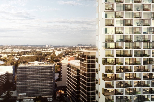 The tower will help to transform Parramatta through the development of a central three hectare area.