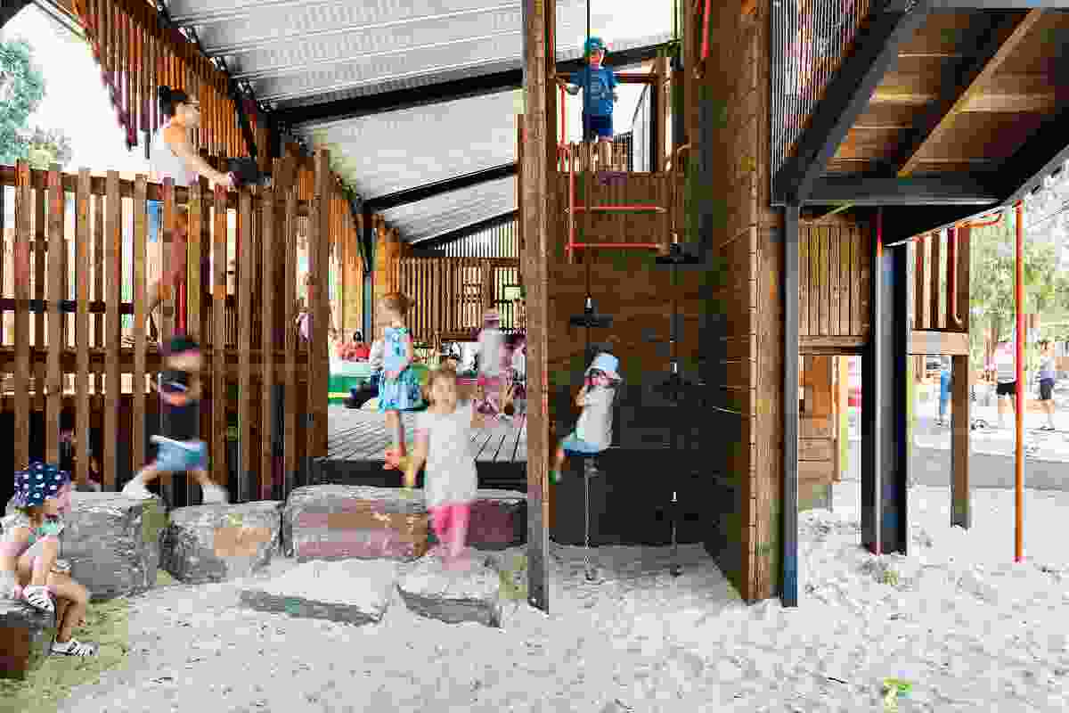 JLA's updated design for Eltham North Adventure Playground offers experiences for children of all abilities.