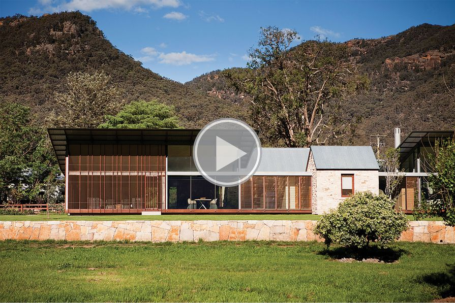 House in Country NSW by Virginia Kerridge Architect.