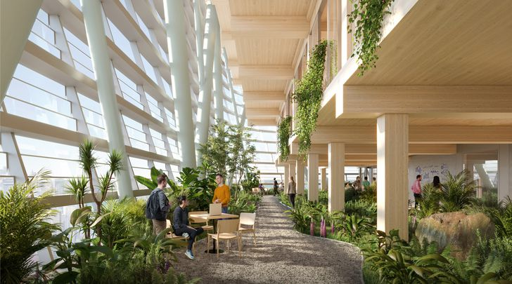 Atlassian Central Development by Shop Architects and BVN.