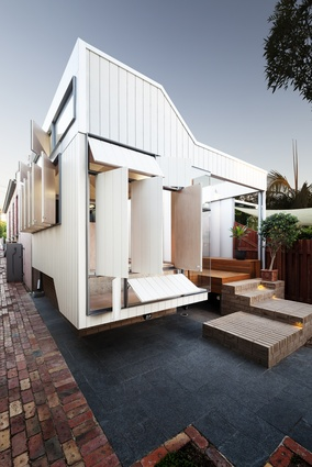 Bellevue Terrace Alterations + Additions (WA) by Philip Stejskal Architecture.