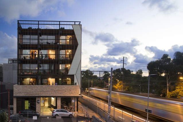 The Commons by Breathe Architecture is the winner of the Frederick Romberg Awards for Residential Architecture - Multiple Housing at the 2014 National Architecture Awards.