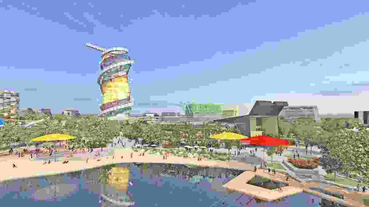 The Gold Coast Cultural Precinct Masterplan by ARM Architecture and Topotek1.