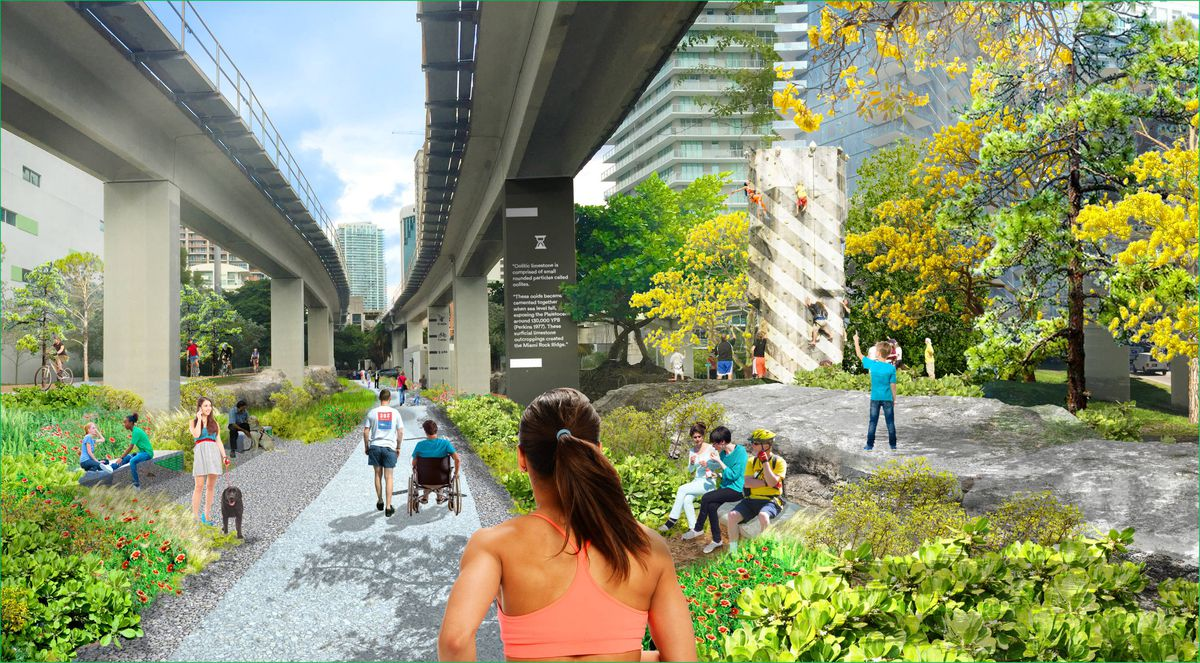 Rail lines over roads can help with more than just traffic