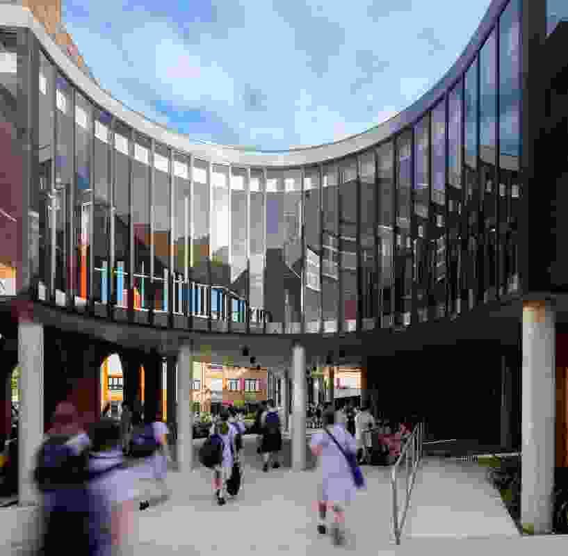 Bethlehem College Ashfield by Neeson Murcutt and Neille.