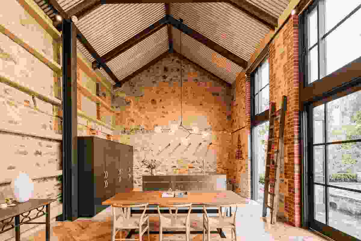 North Adelaide Barn by Williams Burton Leopardi.