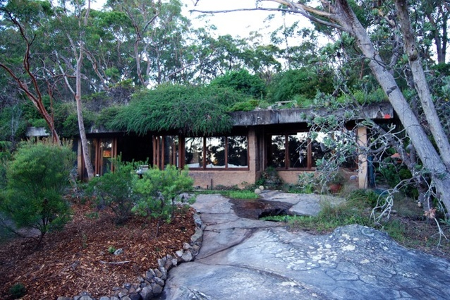 The 1979 Morton House in the NSW Blue Mountains suburb of Woodford.