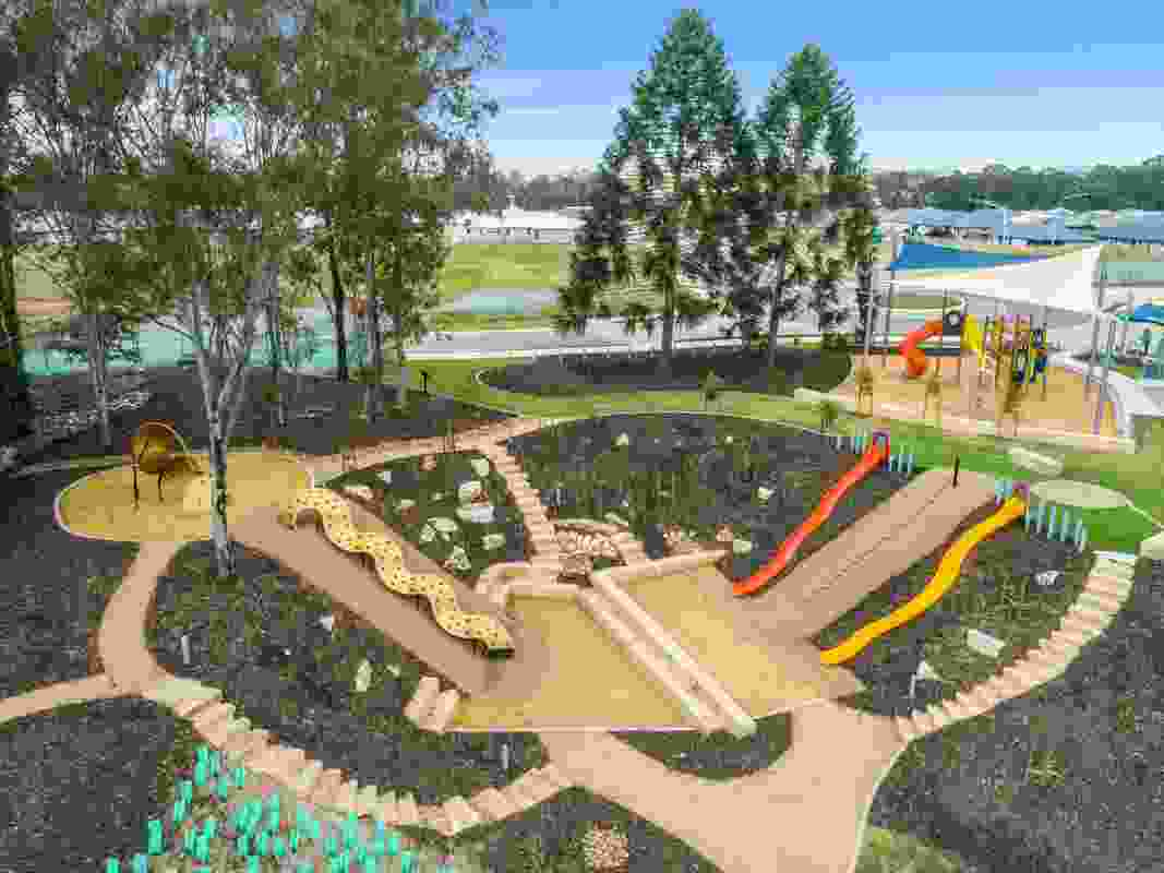 Bunya Andventure Playground by SLR Consulting Australia won a Landscape Architecture Award in the Play Spaces category.