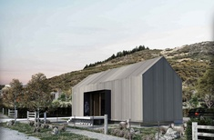 Assembly Architects designs sustainable timber houses in New Zealand's rugged south