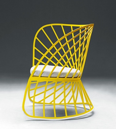 Sol rocking chair by Constance Guisset for Molteni.