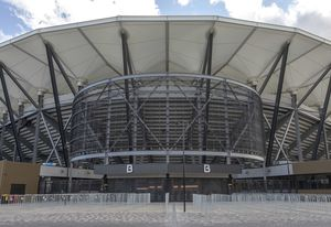 Western Sydney Stadium, designed by Populous.