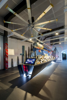 Warships Exhibition by studioplusthree.