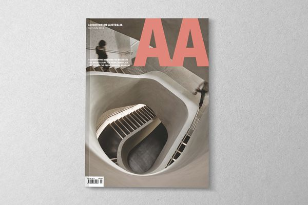 Architecture Australia May/June 2015.