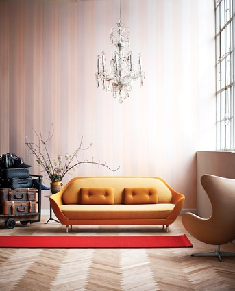 The Favn for Fritz Hansen range has three types of fabrics per sofa and is available in ten colours.
