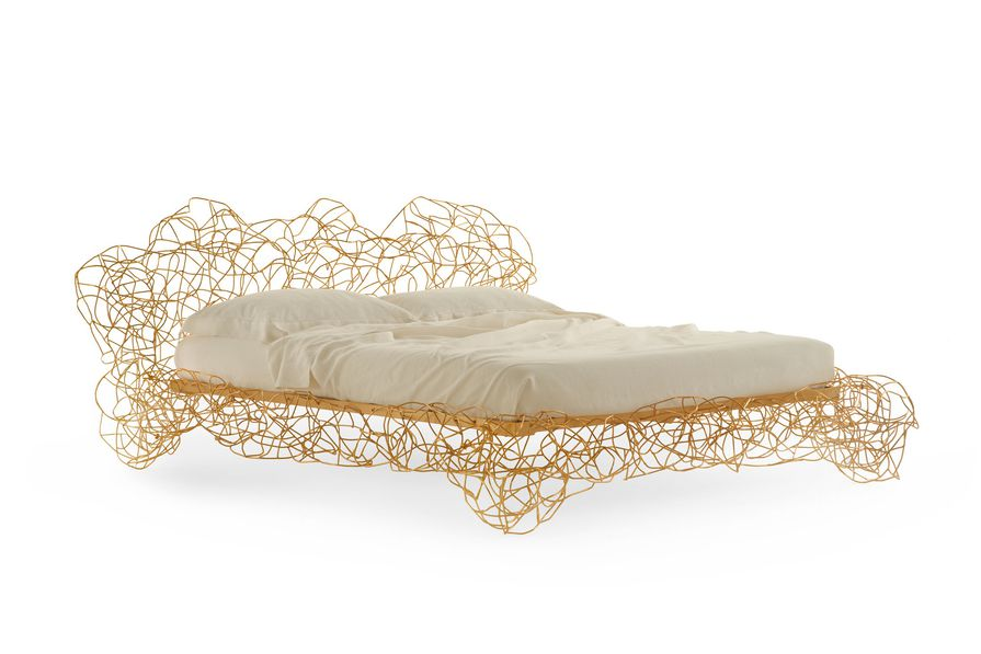 Corallo bed by Fernando and Humberto Campana for Edra.