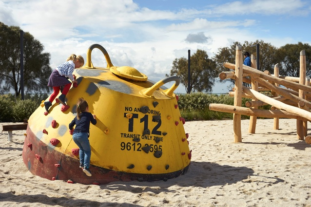 The Maritime Cove Community Park by Oculus Landscape Architecture and Urban Design with Port of Melbourne.
