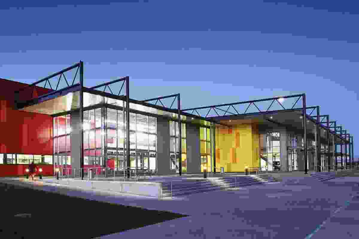 Education category finalist: Wintec Engineering and Trades Facility, Hamilton by Chow:Hill.