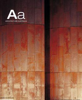 Architecture Australia, November 2004