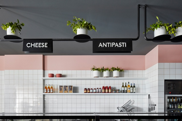 Hunter and Co. Deli by Mim Design.