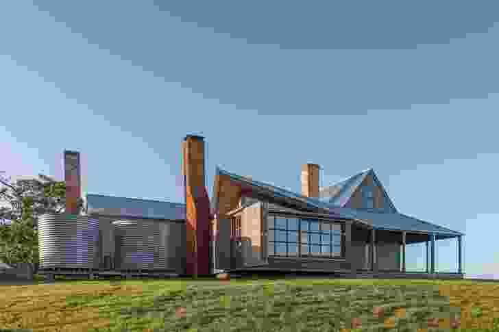 Captain Kelly's Cottage (Tas) by John Wardle Architects.