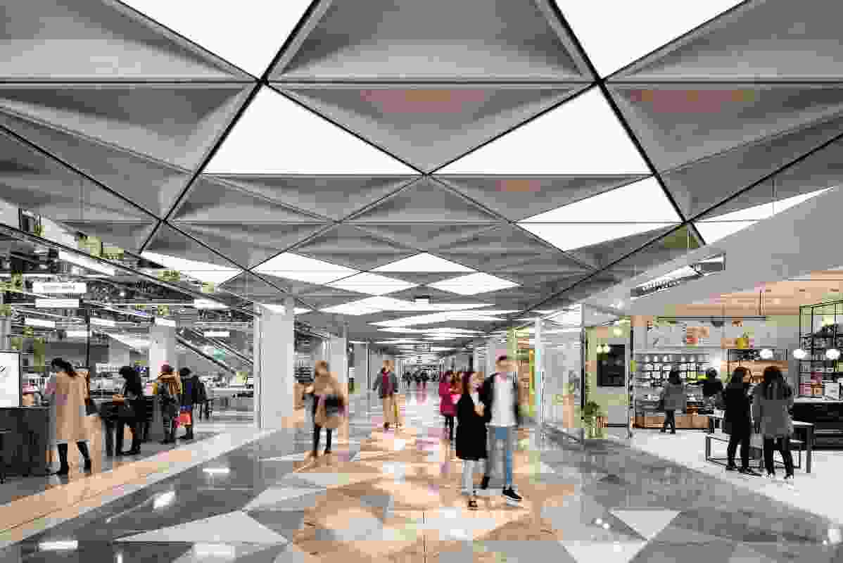 Once a tired part of Canberra Centre, Monaro Mall's two refurnished levels have been invigorated and include the new Beauty Arcade.