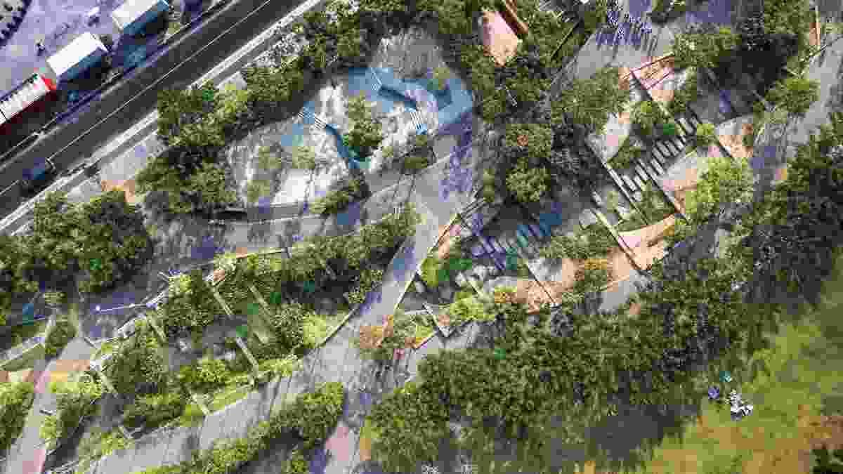 CU Park by Landprocess.