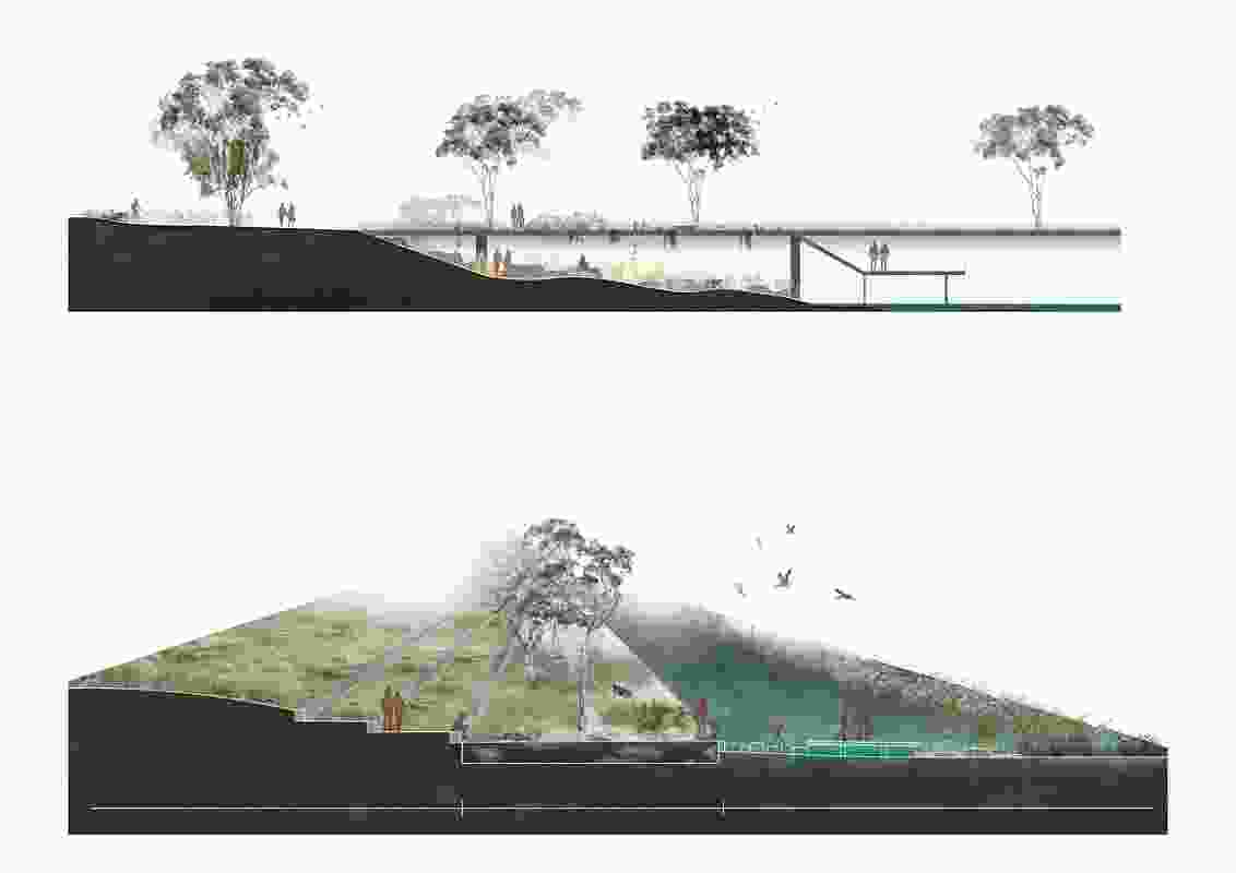 The creek ecosystem is revived, allowing a new nature for Toongabbie Creek to unfold.