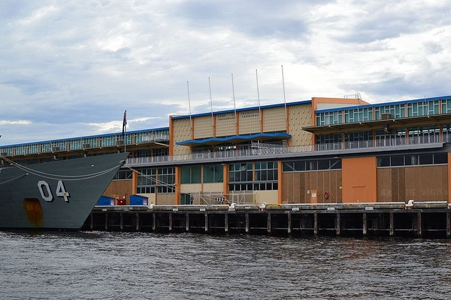 Fremantle Passenger Terminal, designed by Western Australian firm Hobbs, Winning and Leighton.