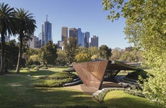 'Bold with an underlying elegance': Carme Pinós's MPavilion opens