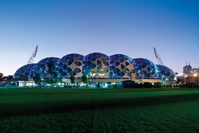 2011 Victorian Architecture Medal recipient: AAMI Park by Cox Architecture.