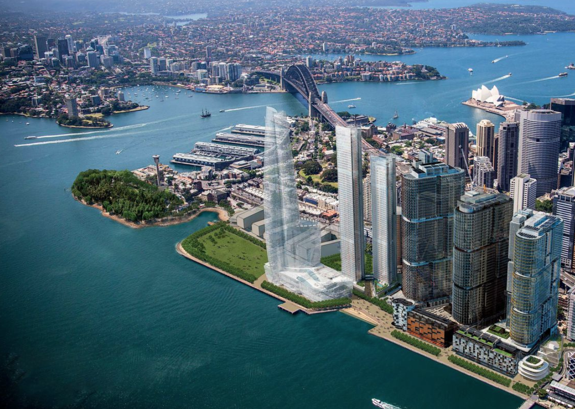 One Sydney Harbour by Renzo Piano Building Workshop.