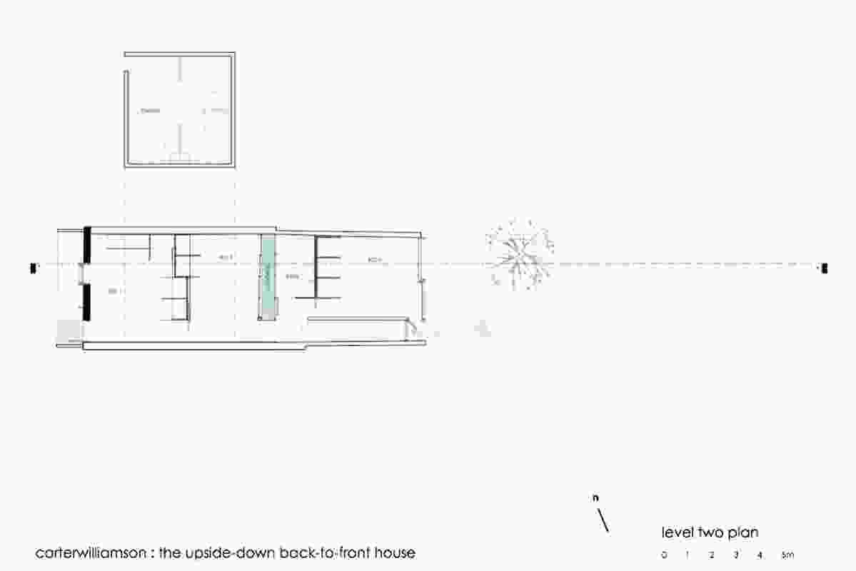 Level 2 plan, Carter Williamson Architects.