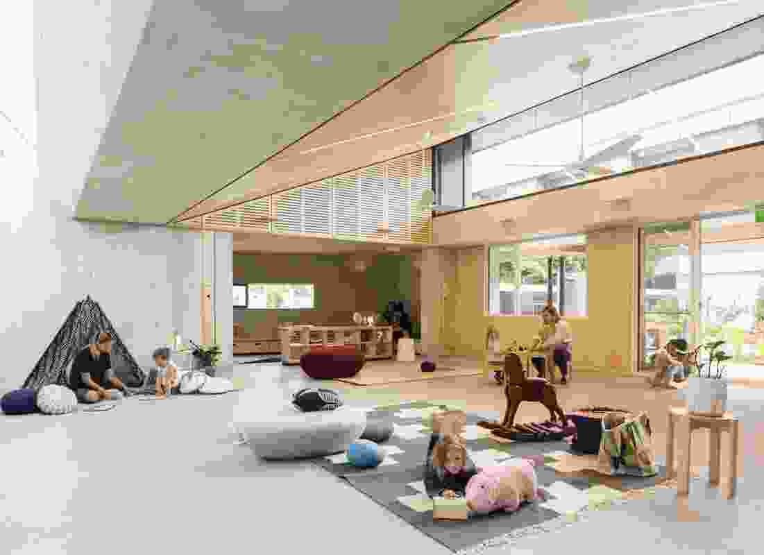 Waranara Early Learning Centre by Fox Johnston Architects.