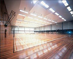 Interior of the multipurpose hall.