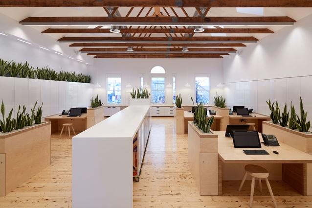 Sustainable Headquarters for Birkenstock Australia by Melbourne Design Studios (MDS).