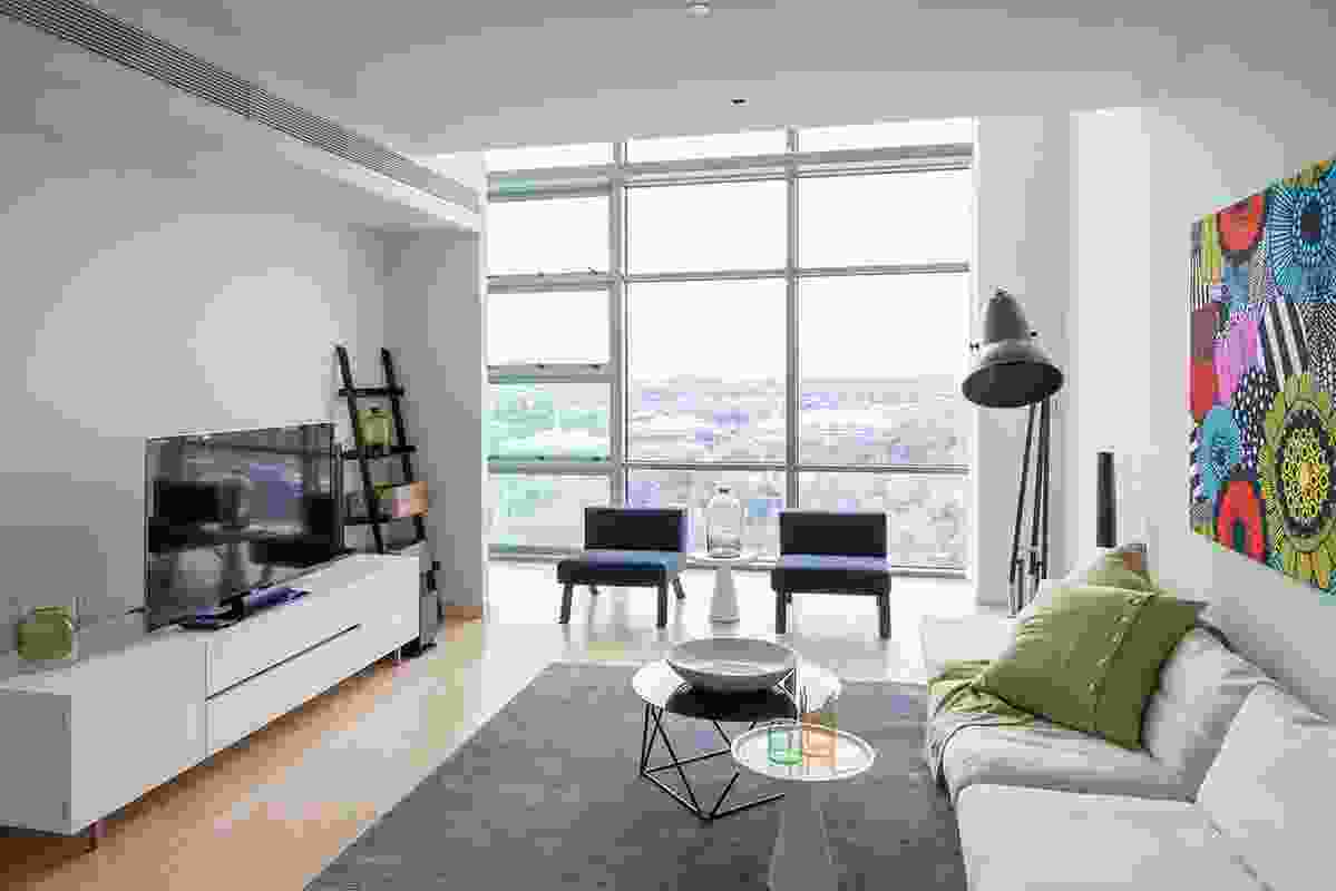 Tryptich apartment interior.