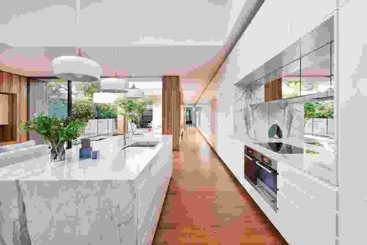 Courtyard House by Matt Gibson Architecture + Design.