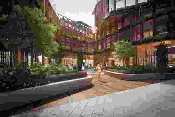 Queens Place by Fender Katsalidis and Cox Architecture.
