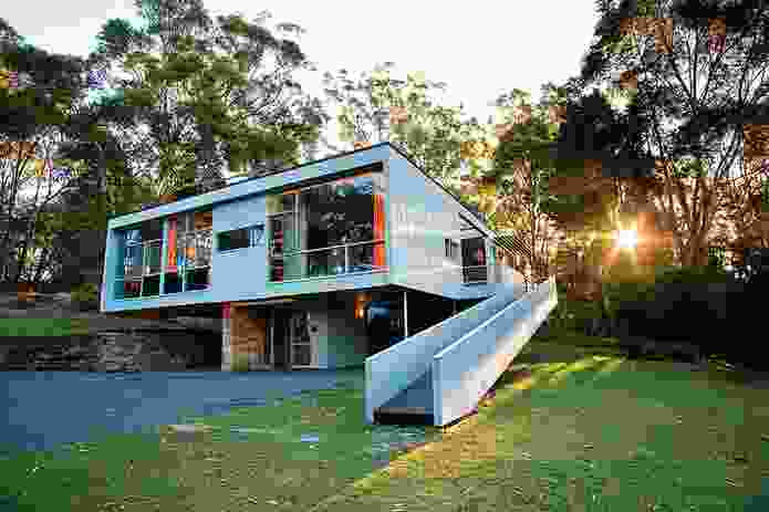 The Rose Seidler House, where Sydney percussionist, producer and composer Laurence Pike will play.