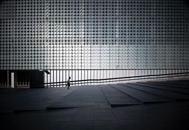 RMIT设计枢纽前院。