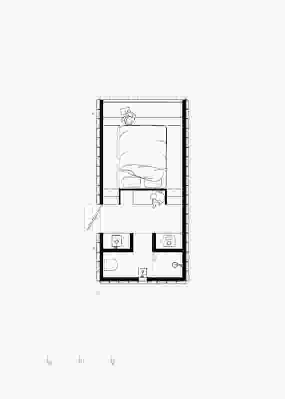 Plan of Slate Cabin by Trias.