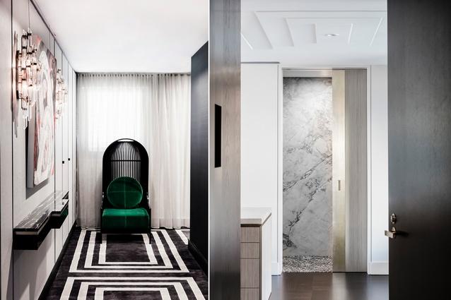 Pier Apartment by Brendan Wong Design.