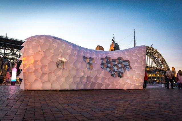 Cellular Tessellation (NSW) – Abedian School of Architecture, Bond University.