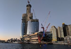 The strategy will allow for taller towers in areas including Barangaroo.
