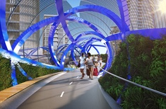Construction begins on $40m bike and pedestrian bridge in Sydney