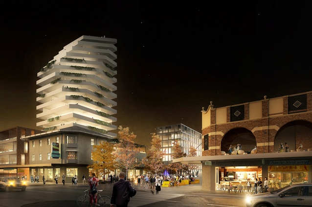 K2K proposal – Middle Street Mall, Kingsford by JBA Urban Design and Planning, Stewart Hollenstein Architecture and Urban Design, Arcadia Landscape and Natural Systems, The Transport Planning People and Jess Scully.