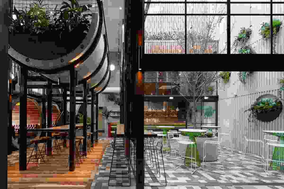 Prahran Hotel by Techne Architects.