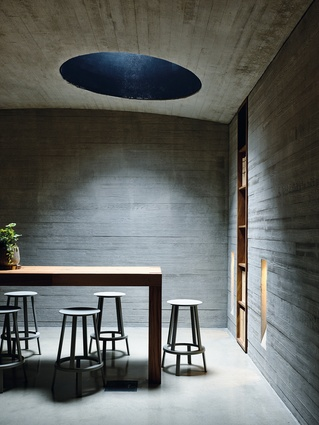 TarraWarra Cellar Door (Yarra Glen, Victoria) by Kerstin Thompson Architects